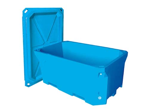 Insulated Tub 1700L - Open Lid