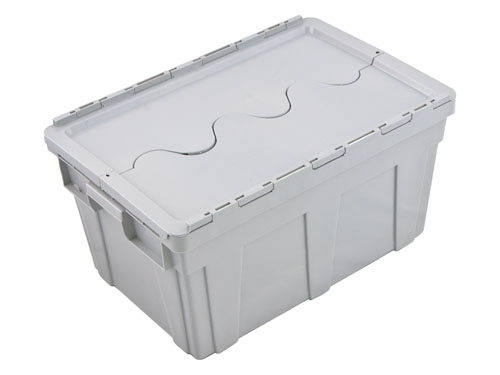LogisticX Nestable Securi-Crate 50L