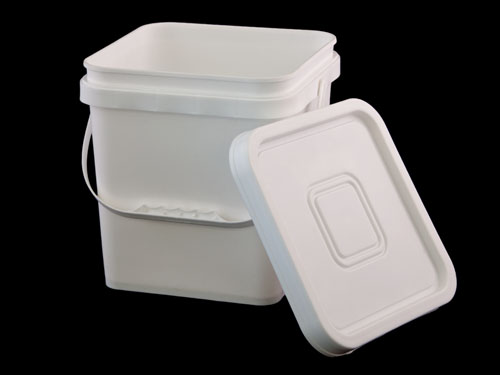 LogisticX Square Pail 10L with Lid by Side