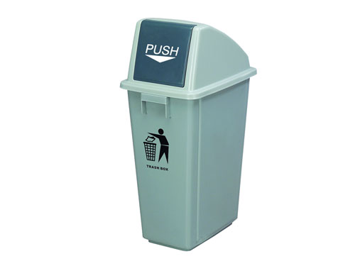 XIN LogisticX Swing Top Bin with Lid 60L