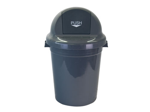 LogisticX Push Top Bin with Lid 95L